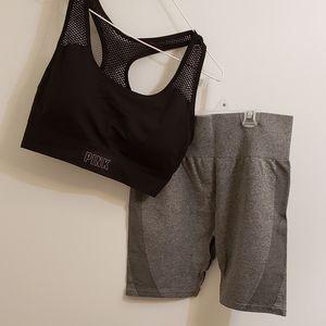 Victoria's Secret Pink Seamless Workout Set Shorts